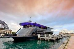 Starship悉尼巡航船 库存照片