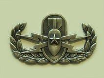 Starsza EOD odznaka Obraz Stock
