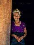 Starsza Indonezyjska kobieta Zdjęcia Stock