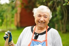 starsza kobieta Fotografia Royalty Free