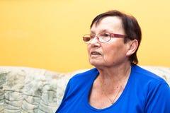 Starsza kobieta Obrazy Stock
