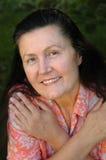 starsza kobieta atrakcyjna Fotografia Stock