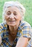 starsza kobieta szczęśliwa Fotografia Royalty Free