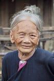 Starsza Lantaen kobieta Obrazy Royalty Free