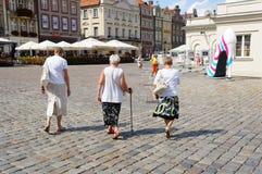 Starsze kobiety Fotografia Stock