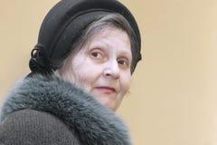 starsze osoby sight kobiety Obrazy Royalty Free