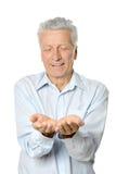 Starszego mężczyzna dawać Obrazy Royalty Free
