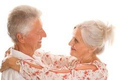 Starszej osoby ładna para obraz royalty free