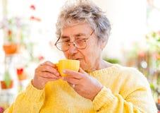 Starszej osoby opieka obraz stock
