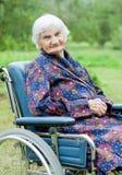 Starszej osoby opieka Fotografia Stock