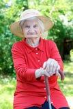 Starszej osoby opieka fotografia royalty free