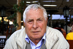 starszy człowiek Zdjęcia Stock