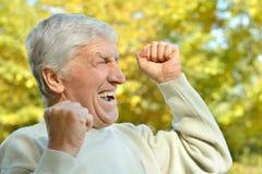 starszy człowiek portret Zdjęcie Royalty Free