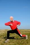 starszy człowiek sportowego Obraz Stock