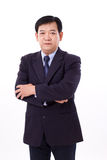 Starszy dyrektor wykonawczy ręk skrzyżowanie Obrazy Stock