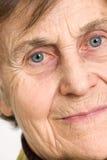 Starszy kobiety starszy Zakończenie Zdjęcia Royalty Free