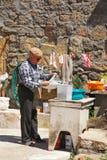 Starszy mężczyzna, Idanha-a-Velha, Portugalia. Zdjęcie Royalty Free