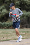 Starszy Męski Maratoński biegacz zdjęcia stock