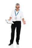 Starszy napędowy instruktor obraz royalty free