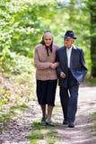 Starszy para styl życia Zdjęcia Stock