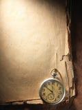 starszy rocznik papierowego kompas Zdjęcia Stock