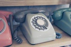 starszy rocznik telefonu Zdjęcie Stock