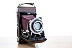 starszy rocznik zdjęciu kamery fotografia stock