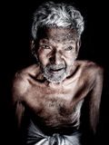Starszy stary człowiek Obrazy Royalty Free