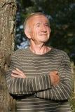starszych osob mężczyzna portret Obrazy Stock