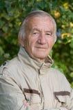 starszych osob mężczyzna portret Obraz Royalty Free