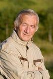 starszych osob mężczyzna portret Zdjęcie Stock