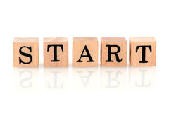 Start Royalty Free Stock Photography