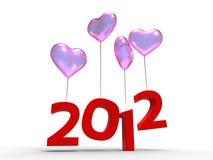 start 2012 Fotografering för Bildbyråer