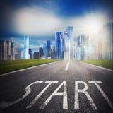 Start achievement Stock Image