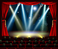 Start of amazing entertainment event Royalty Free Stock Image