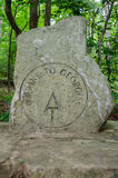 Start of the Appalachian Trail Marker Royalty Free Stock Photography