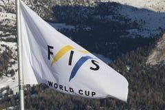 Start Area during World Ski Men Ita Downhill Race Royalty Free Stock Photos
