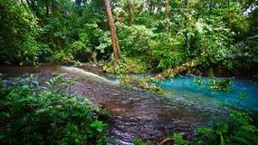 Start av blå rio celeste Royaltyfria Foton