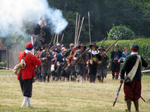 re-enactment British civil war Stock Photography