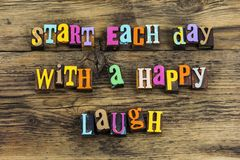 Free Start Begin Day Happy Laugh Enjoy Grateful Heart Love Laughter Royalty Free Stock Images - 161028059