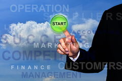 Start business concept Stock Photos