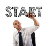 Start a business sucessful career Royalty Free Stock Photo