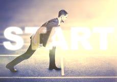 Start Royalty Free Stock Image