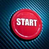 Start button Royalty Free Stock Photo