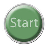Start Button Stock Image