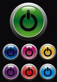 Start button royalty free illustration