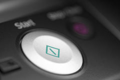 Start button Stock Image