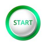Start Button. Stock Image