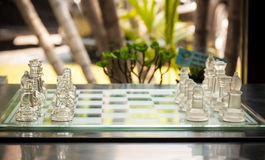 Start a chess game Royalty Free Stock Photos