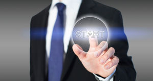 Start concept, business Royalty Free Stock Photography